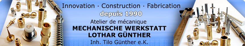 Innovation, Construction, Fabrication depuis 1990